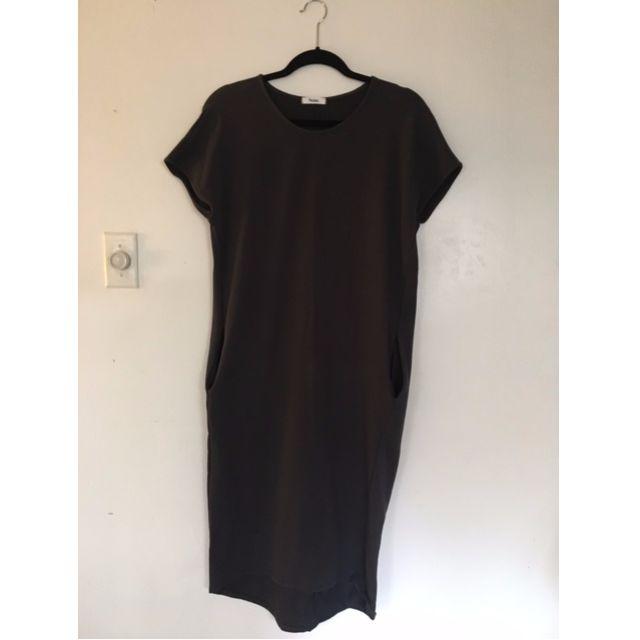 Oak + Fort T-shirt dress