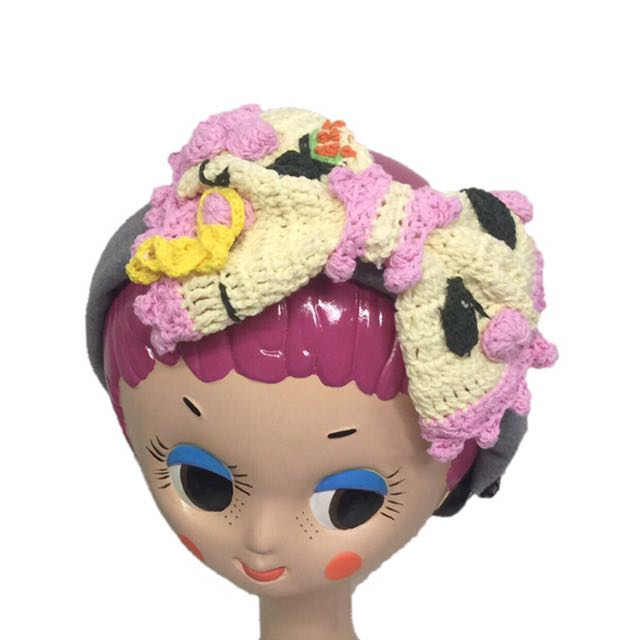 Paishop 花朵髮帶