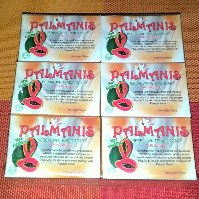 PALMANIS Beauty Soap  Herbal Whitening Soap With Sunblock