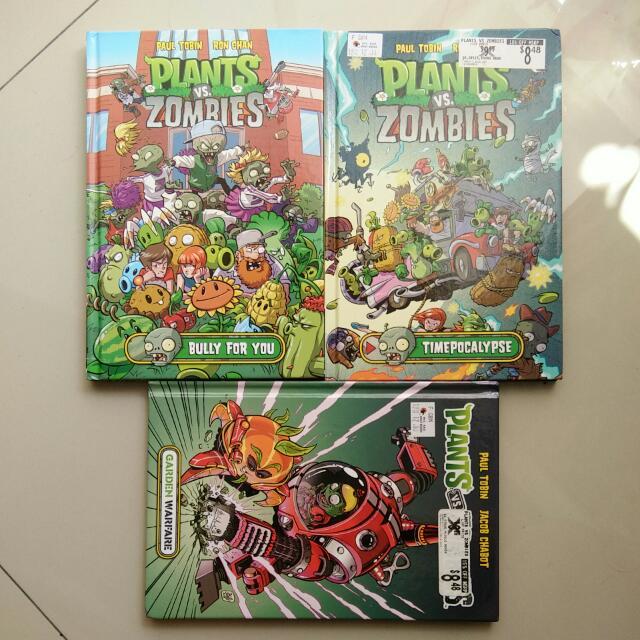 Plants Vs Zombies, Books & Stationery, Comics & Manga on Carousell