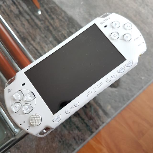 PSP Special Edition White Darth Vader