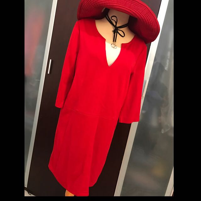 Red Dress....ZARA