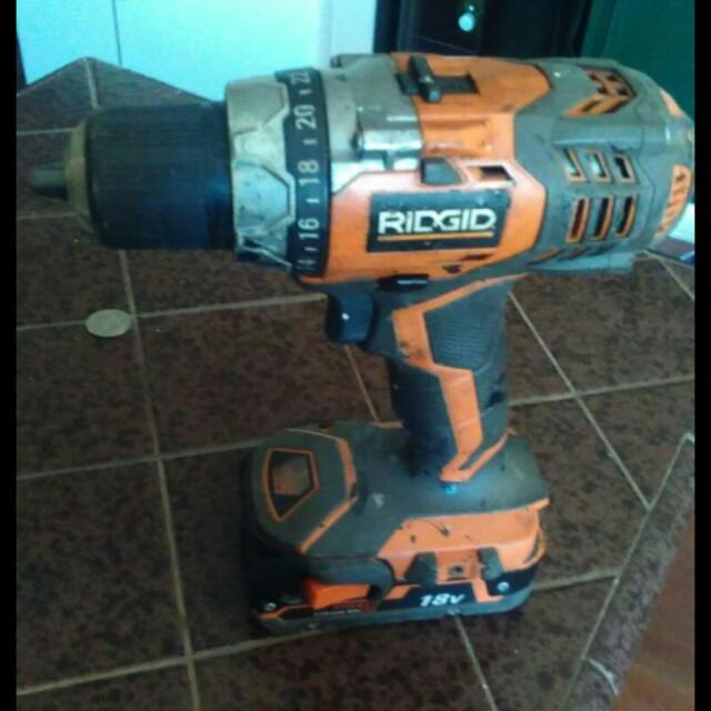 Ridgid Drill No Charger