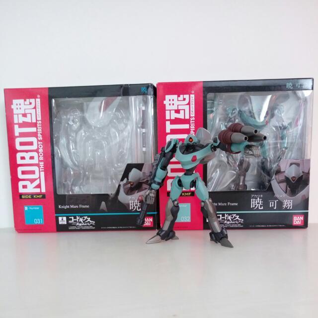 Robot 魂 031 反逆的魯魯修 曉 + Robot 魂 032 反逆的魯魯修 曉 可翔 2 只合賣