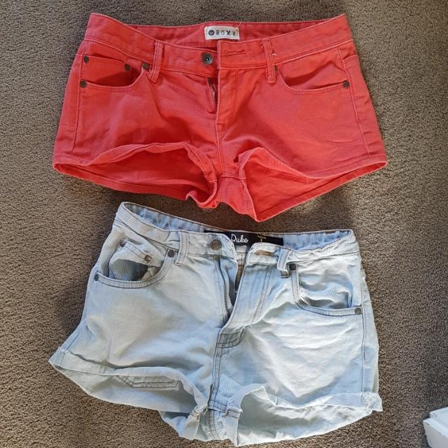 Roxy and factorie denim shorts