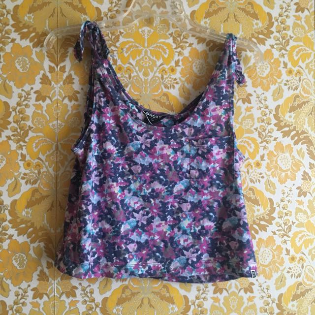Roxy Floral Crop Top