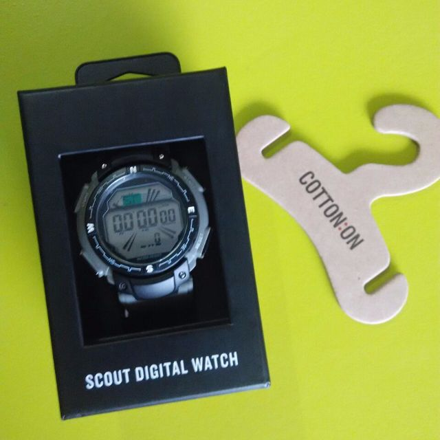 SCOUT DIGITAL WATCH CottonON