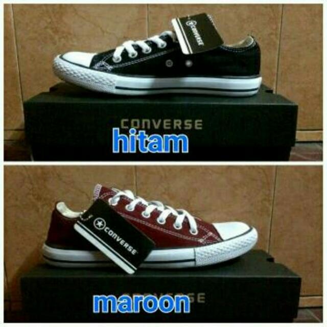 sepatu Converse all star murah dan plus box Converse yg berkualitas ... 6bde4de8f1