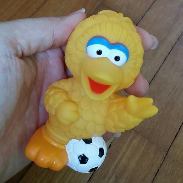 Sesame Street Elmo Big Bird Cake Topper 2 Pieces Set