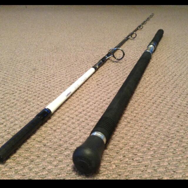 Shimano Caranx Kaibutsu Long Cast Popping Rod, Sports