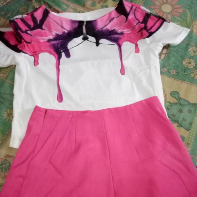 REPRICE Dress And Short Pants Korea Style