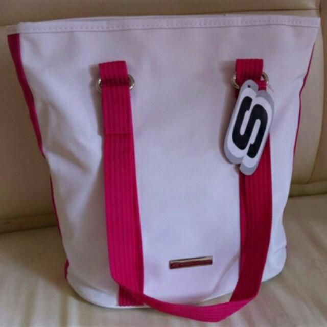 Skechers Carrier Bag - White / Pink