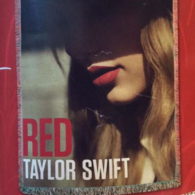 Taylor Swift Tapestry Woven Blanket