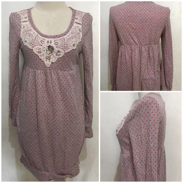 Thick cotton Dress