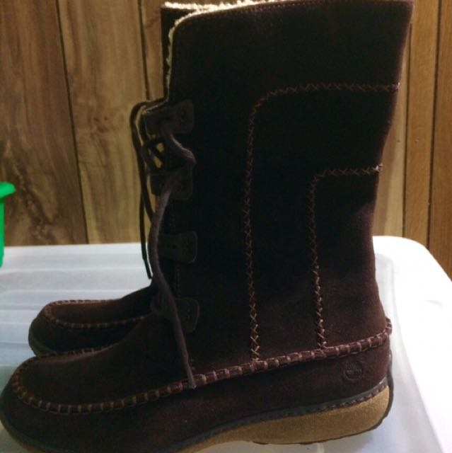 Timberlands Suede Brown Boots