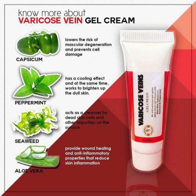 Varicose Gel Cream