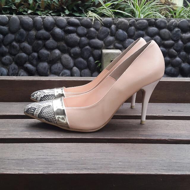 Vincci Dusty Pink Heels