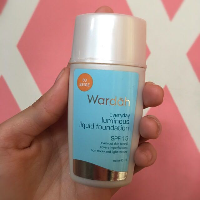 Wardah Foundation 03 Beige