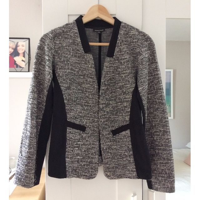 Warehouse Tweed Jacket, Size 2