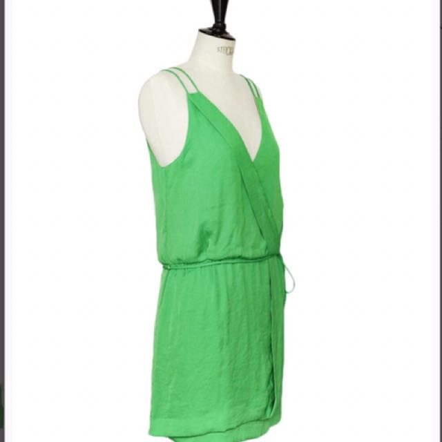 Zara Green Dress Size Small
