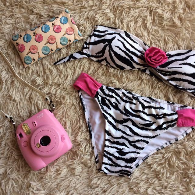 Zebra Print Bikini Set (REPRICED ✨)