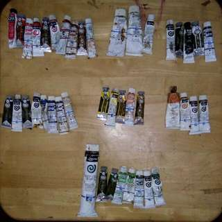 AFFORDABLE OIL PAINT TUBES BUNDLE