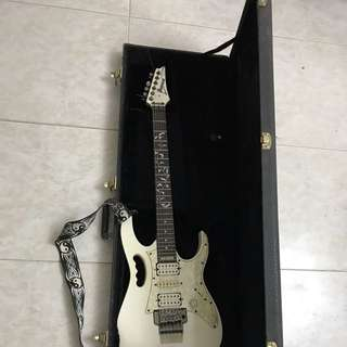 Ibanez JEM 555 WH Electric Guitar