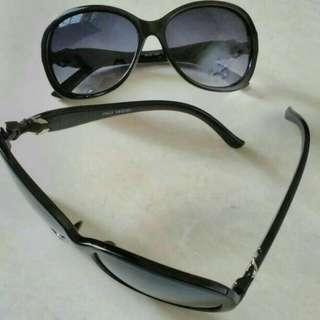 Kacamata cewek full black cantik kuat murah istimewa.