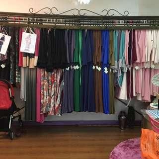 Cloth Railing. Railing Baju.