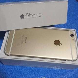 IPHONE 6 16 / 64GB GOLD GRAY /  HITAM EMAS FULLSET ORIGINAL MULUS 99% LIKENEW GARANSI