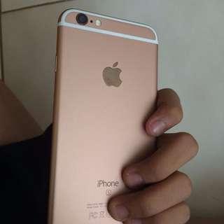 IPHONE 6S 16GB / 64GB GOLD ROSEGOLD GRAY / EMAS HITAM ORIGINAL FULLSET MULUS 99%  BERGARANSI