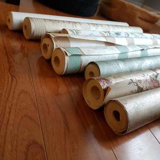 Gorgeous Rolls Of Wallpaper