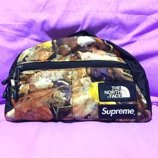SUPREME x THE NORTH FACE : Roo ll Lumbar Pack LEAVES