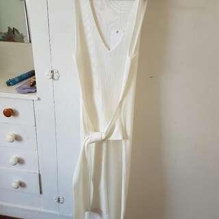 White Closet Winter Dress