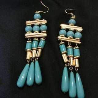 H&M Blue Earrings