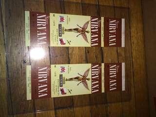 Nirvana Tickets
