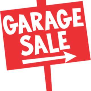 GARAGE SALE THIS WEEKEND