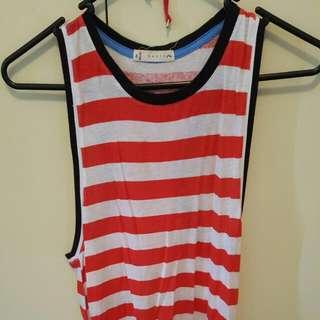 Rusty Stripe Dress
