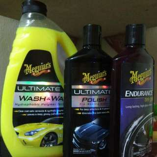 (3)I Item Meguiar's for Sale
