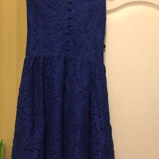 Royal Blue Talula Dress Aritzia