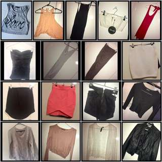 Ladies Mixed Clothing Bundle (size 6/XS)