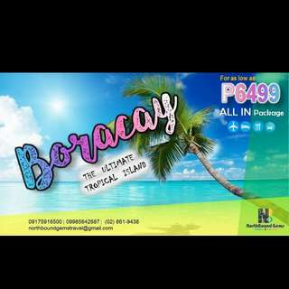 Boracay Full Package with Airfare