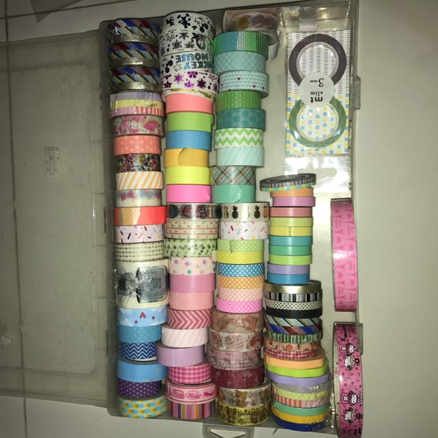 107 pcs washi tapes