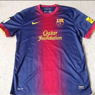 Authentic Barcelona Jersey
