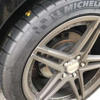 4 X Michelin Pilot Supersports 18""