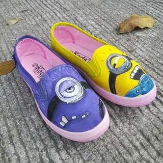Minion Shoes Actual Pics