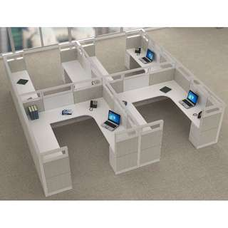Office Workstation Partition l Office Modular l Cubicles l Wall Divider
