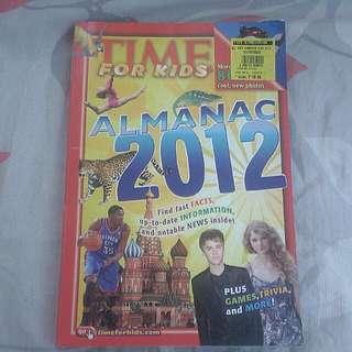 Almanac 2012 for Kids