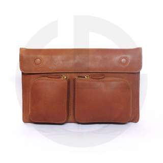 """Softcase/Sleeve Macbook Air 11.6"""" Authentic Leather"""