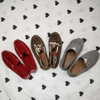 Boat Shoes (set of 3)
